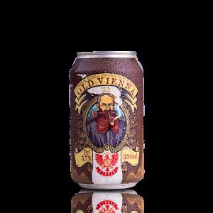 Cerveja Extra Escura Old Vienna LindenBier lata 350ml