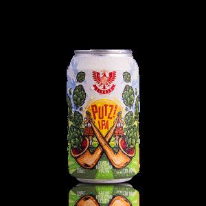 Cerveja Forte Clara Putz! IPA LindenBier lata 350ml
