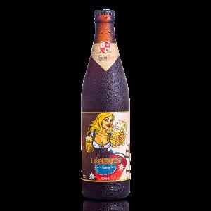 Cerveja Clara Tipo Festbier Tirolerfest LindenBier garrafa 500ml