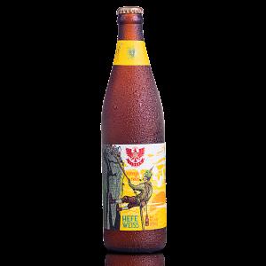 Cerveja de Trigo Hefe Weiss LindenBier garrafa 500ml
