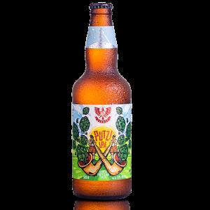 Cerveja Forte Clara Putz! IPA LindenBier garrafa 500ml