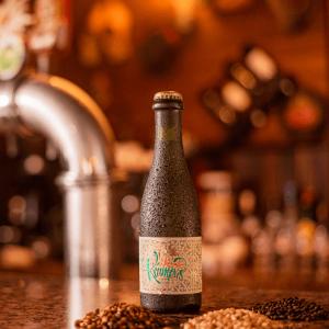 Cerveja Belgian Strong Golden Ale Krampus LindenBier garrafa 375ml