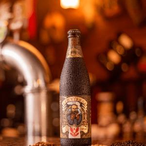 Cerveja Extra Escura Old Vienna LindenBier garrafa 500ml